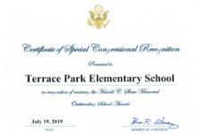 Terrace Park Elementary Recognized for Science Achievement