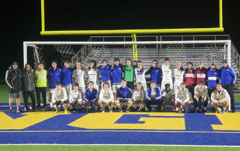 Boys Soccer Team State Semifinal