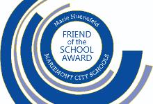 Friend of the School Award Logo