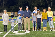 MHS Athletic Field Named for Legendary Coach Tom Crosby