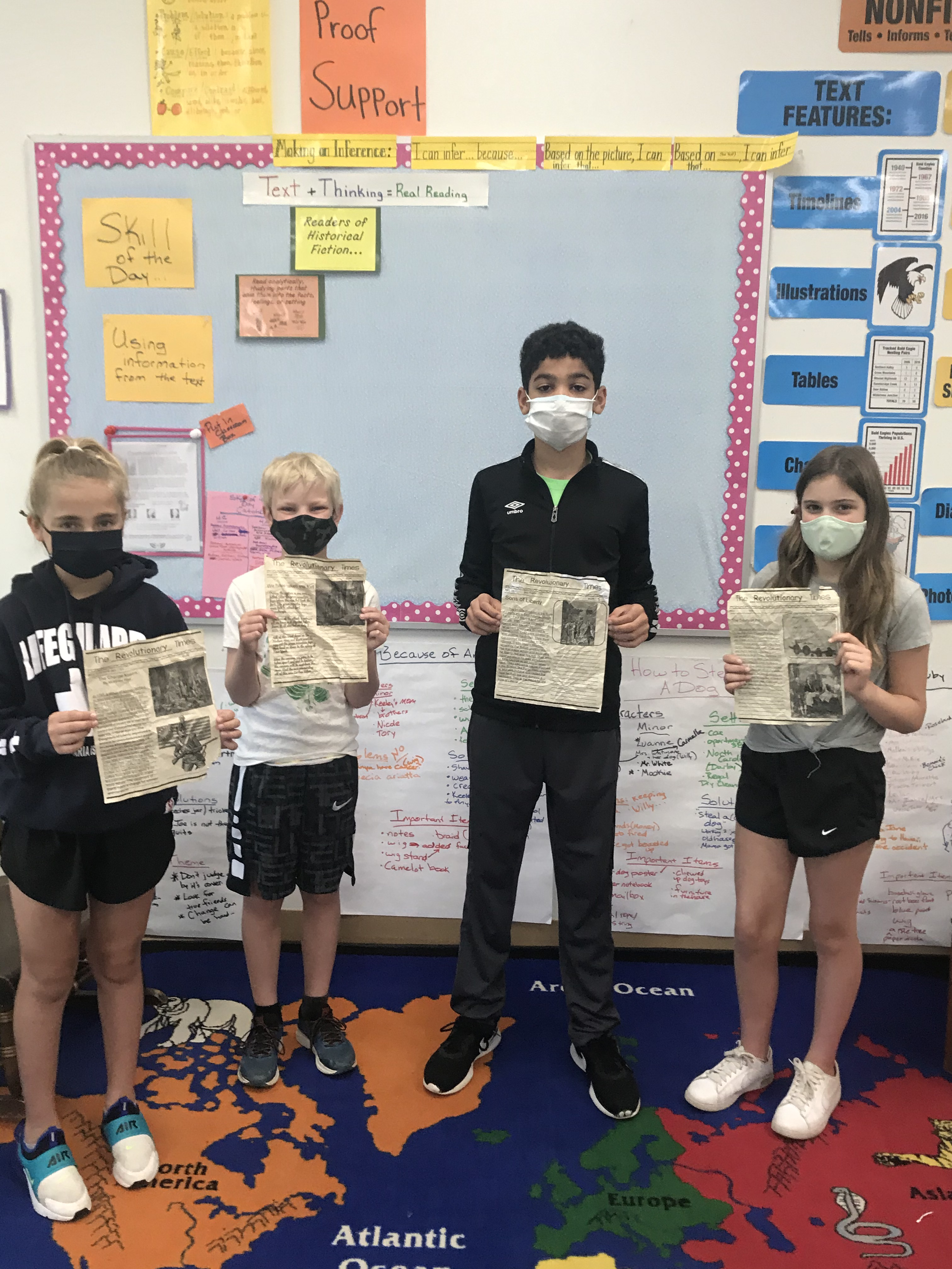 Terrace Park Students Use Art to Enhance History Lesson