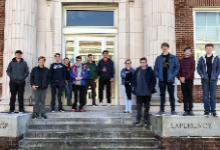 Latin Students Posing