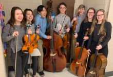 High School Orchestra Receives Group, Solo Honors