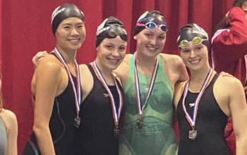 swimming district medals