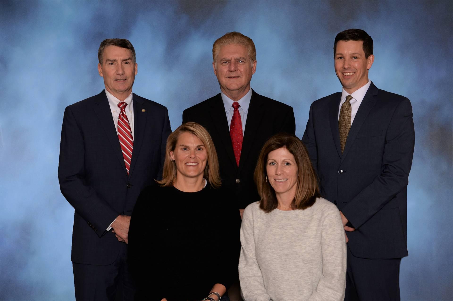 Five Board of Education members