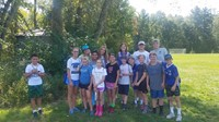 Camp Kern students with teachers