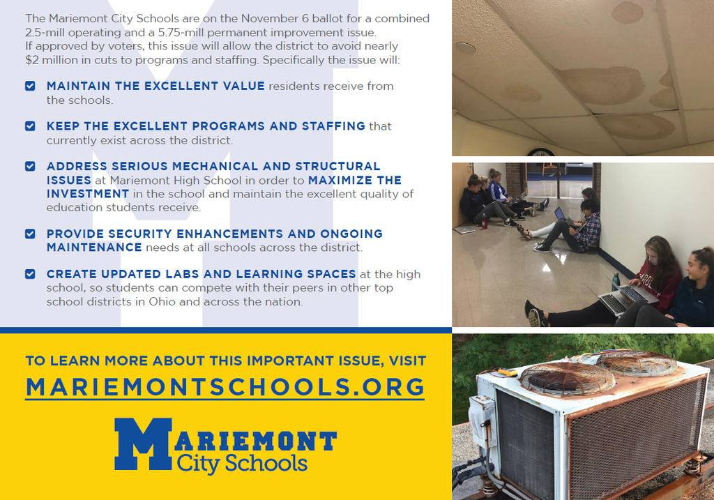 Mariemont City Schools Levy Information