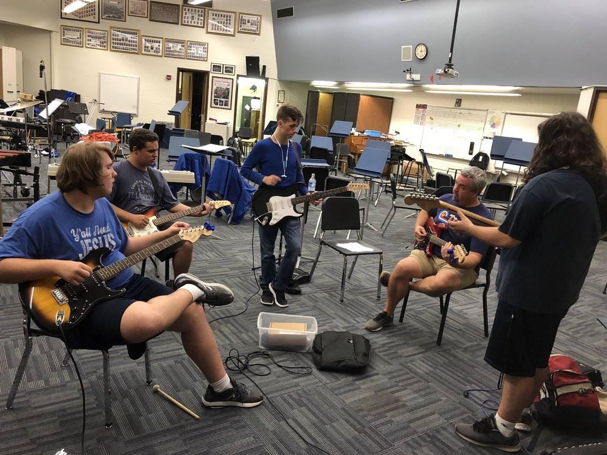 Warriors Rock Band